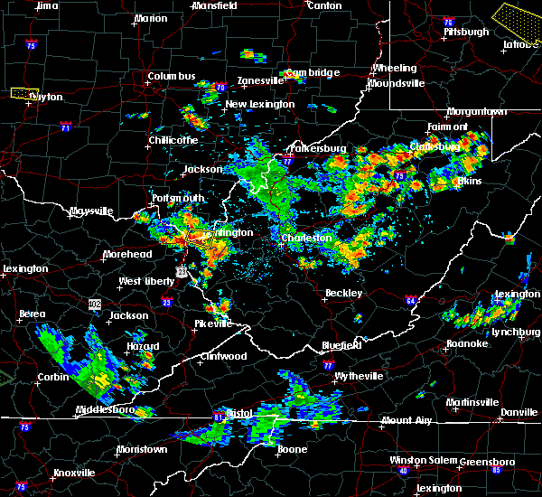 Radar Image for Severe Thunderstorms near Huntington, WV at 7/2/2019 3:44 PM EDT
