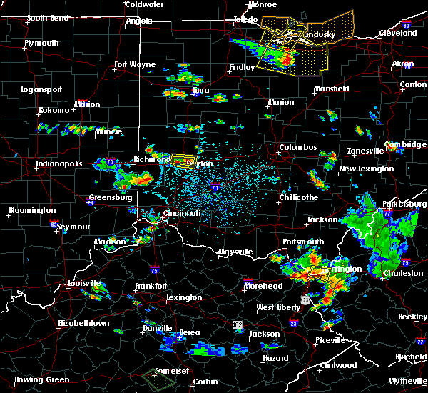 Radar Image for Severe Thunderstorms near Dayton, OH at 7/2/2019 3:46 PM EDT