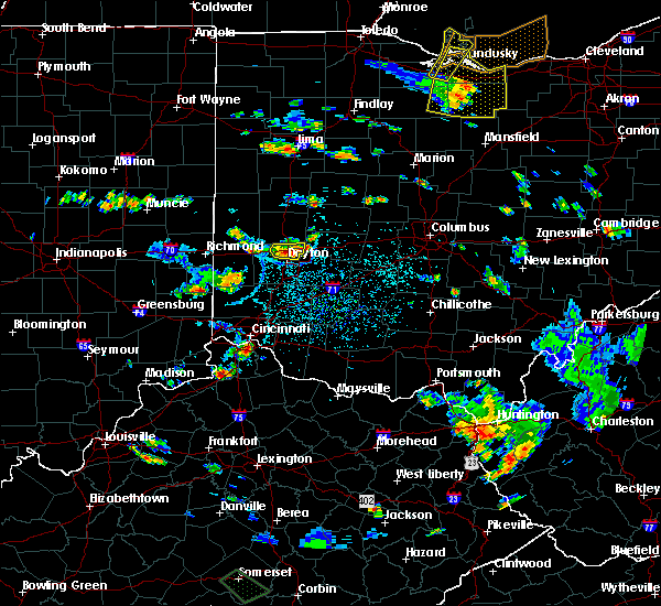 Radar Image for Severe Thunderstorms near Dayton, OH at 7/2/2019 3:59 PM EDT