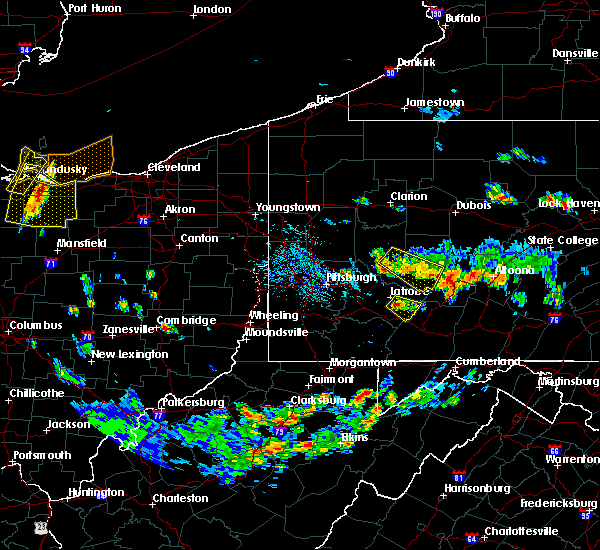 Radar Image for Severe Thunderstorms near Youngstown, PA at 7/2/2019 3:59 PM EDT