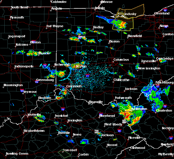 Radar Image for Severe Thunderstorms near Dayton, OH at 7/2/2019 4:06 PM EDT