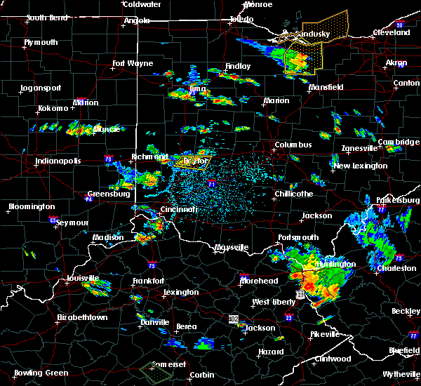 Radar Image for Severe Thunderstorms near Dayton, OH at 7/2/2019 4:08 PM EDT