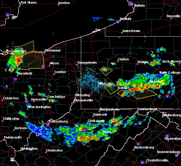 Radar Image for Severe Thunderstorms near Plum, PA at 7/2/2019 4:24 PM EDT