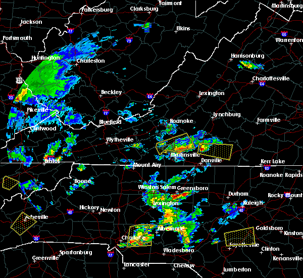 Radar Image for Severe Thunderstorms near Mountain Road, VA at 6/19/2015 6:08 PM EDT