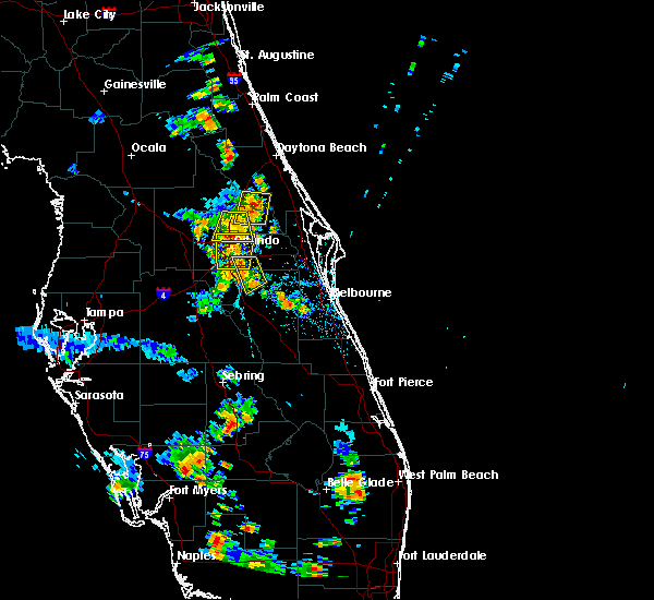 Radar Image for Severe Thunderstorms near Wekiwa Springs, FL at 6/19/2015 6:12 PM EDT