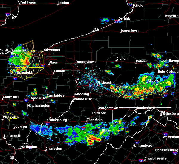 Radar Image for Severe Thunderstorms near Youngstown, PA at 7/2/2019 4:48 PM EDT