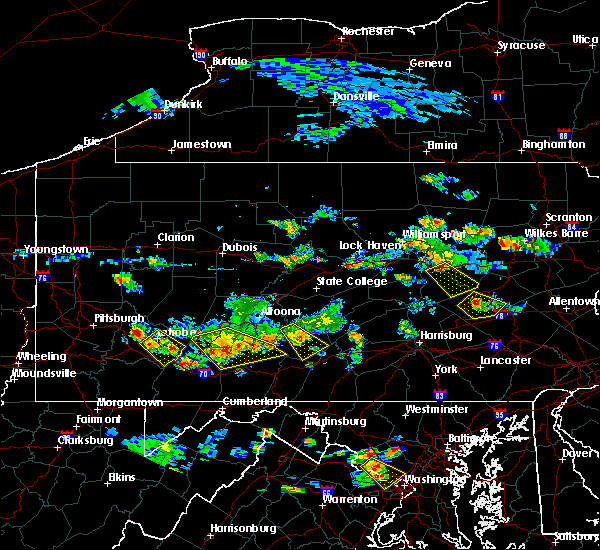 Radar Image for Severe Thunderstorms near Danville, PA at 7/2/2019 4:48 PM EDT