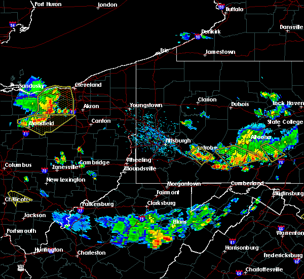 Radar Image for Severe Thunderstorms near Youngstown, PA at 7/2/2019 4:55 PM EDT
