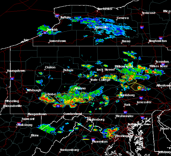 Radar Image for Severe Thunderstorms near Kulpmont, PA at 7/2/2019 5:07 PM EDT