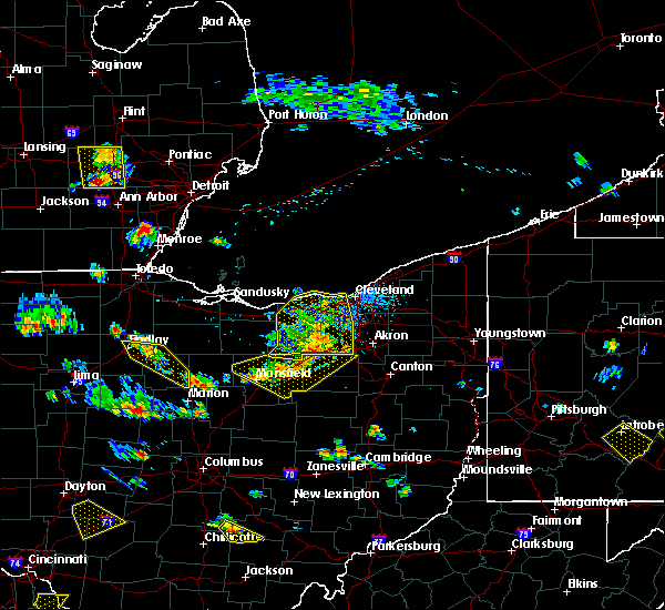 Radar Image for Severe Thunderstorms near Polk, OH at 7/2/2019 5:09 PM EDT