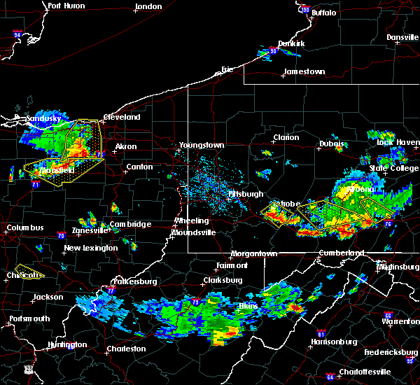 Radar Image for Severe Thunderstorms near Youngstown, PA at 7/2/2019 5:09 PM EDT