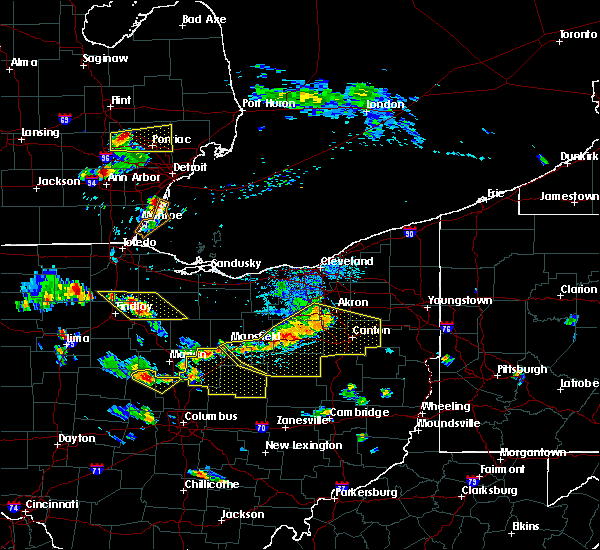 Radar Image for Severe Thunderstorms near New Riegel, OH at 7/2/2019 5:40 PM EDT