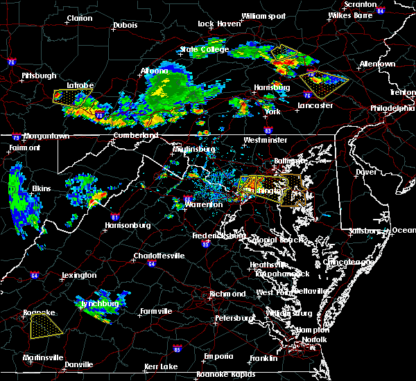 Radar Image for Severe Thunderstorms near Wheaton, MD at 7/2/2019 5:44 PM EDT