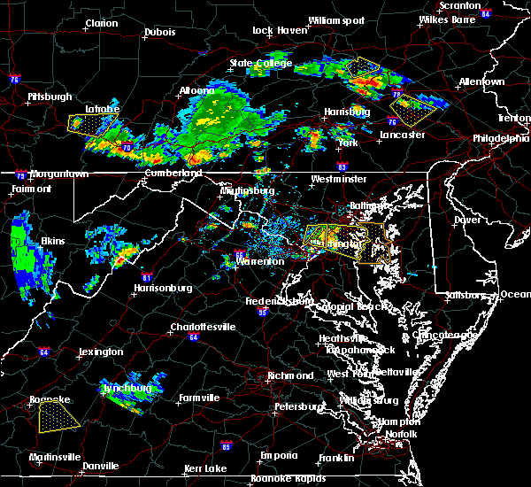 Radar Image for Severe Thunderstorms near Dover, PA at 7/2/2019 5:46 PM EDT