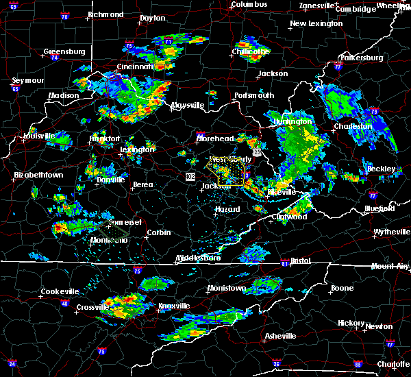 Radar Image for Severe Thunderstorms near Paintsville, KY at 7/2/2019 5:48 PM EDT