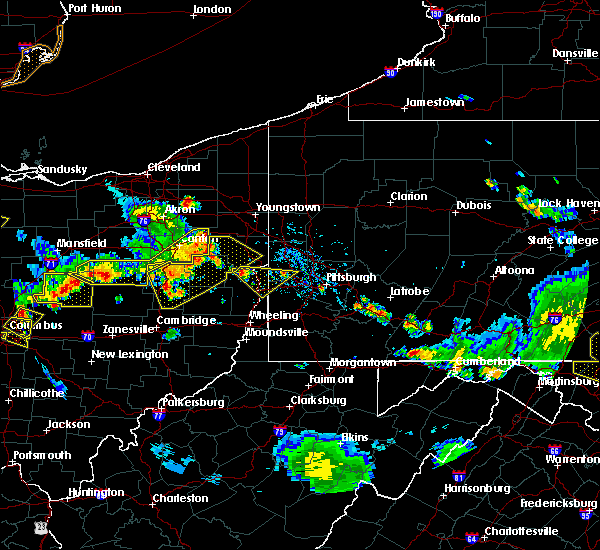 Radar Image for Severe Thunderstorms near Tuscarawas, OH at 7/2/2019 6:31 PM EDT