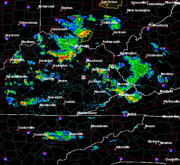 Radar Image for Severe Thunderstorms near Paris, KY at 7/2/2019 6:43 PM EDT