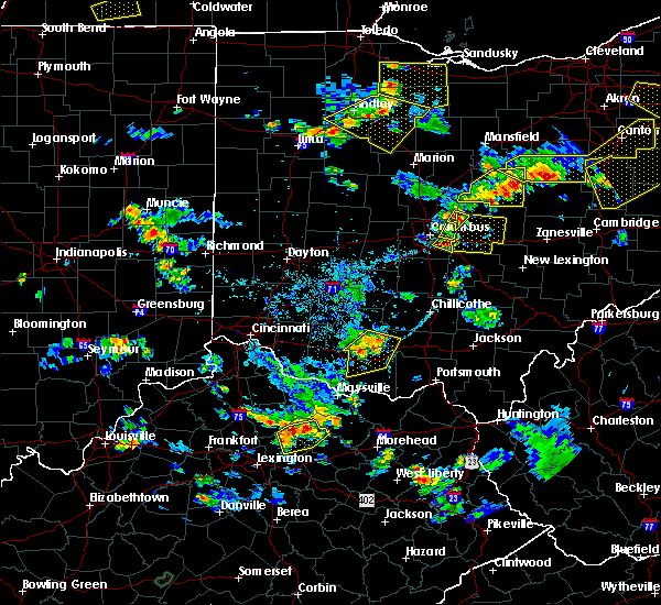 Radar Image for Severe Thunderstorms near Pataskala, OH at 7/2/2019 6:44 PM EDT