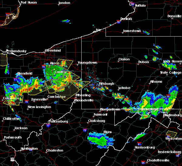 Radar Image for Severe Thunderstorms near Lafferty, OH at 7/2/2019 7:00 PM EDT
