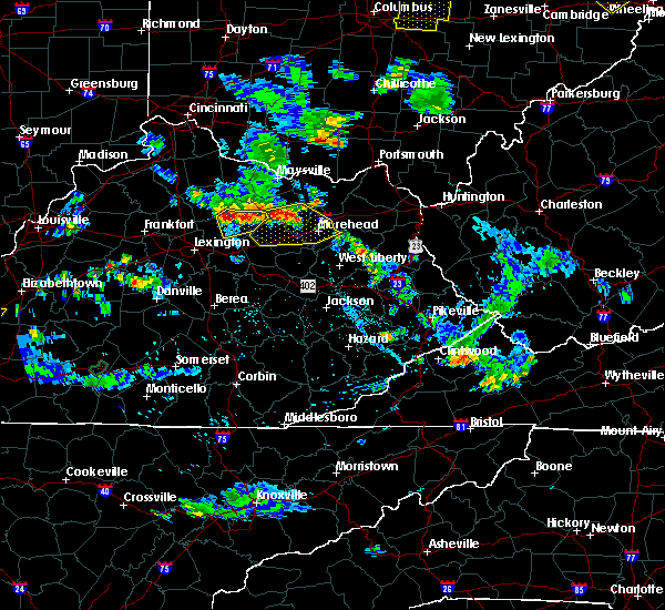 Radar Image for Severe Thunderstorms near Paris, KY at 7/2/2019 7:06 PM EDT