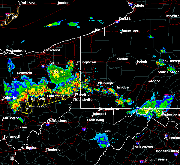 Radar Image for Severe Thunderstorms near Frazeysburg, OH at 7/2/2019 7:26 PM EDT
