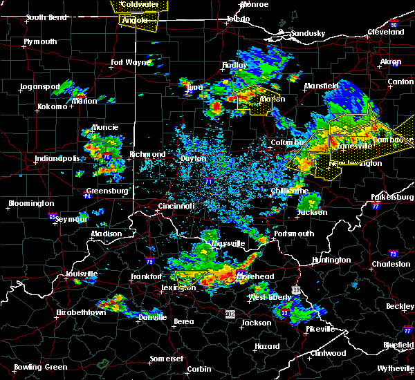 Radar Image for Severe Thunderstorms near Rushville, OH at 7/2/2019 7:35 PM EDT