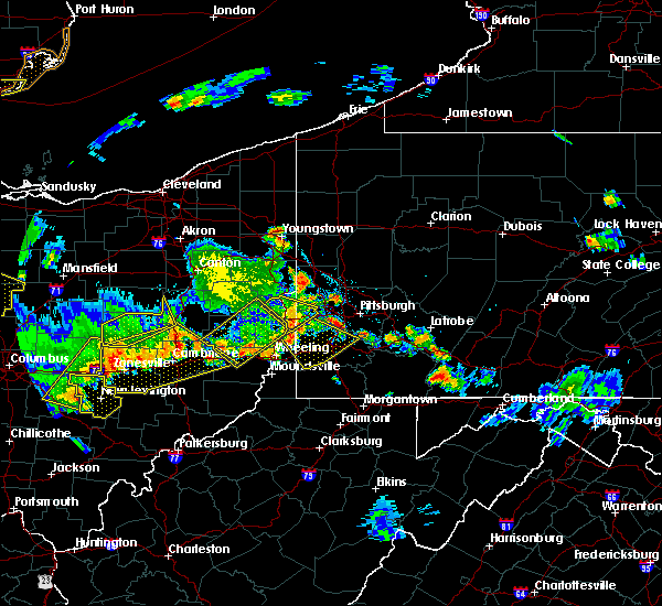 Radar Image for Severe Thunderstorms near Paris, PA at 7/2/2019 7:44 PM EDT