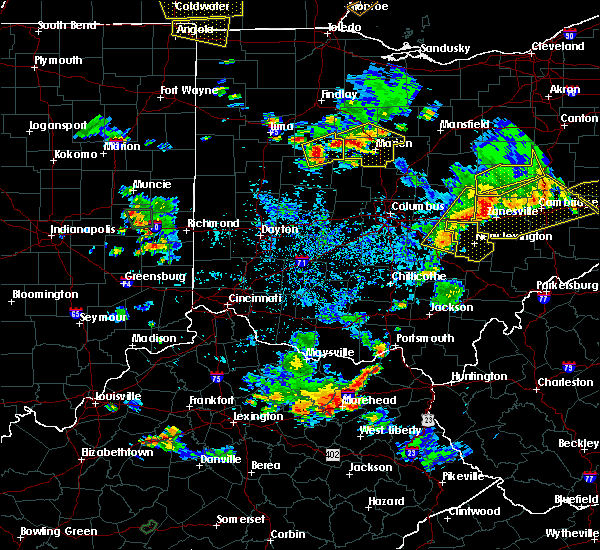 Radar Image for Severe Thunderstorms near Ridgeway, OH at 7/2/2019 7:45 PM EDT