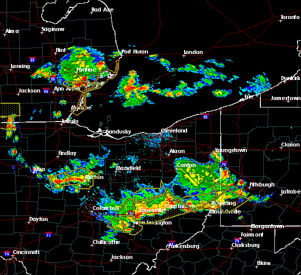 Radar Image for Severe Thunderstorms near Waldo, OH at 7/2/2019 7:50 PM EDT