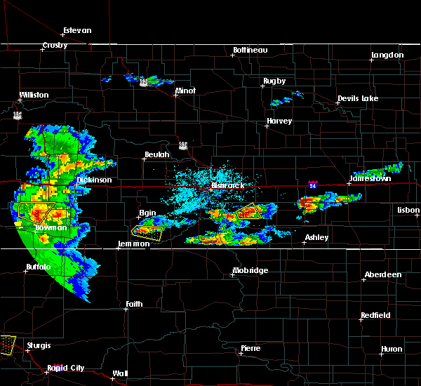 Radar Image for Severe Thunderstorms near Amidon, ND at 7/2/2019 5:55 PM MDT