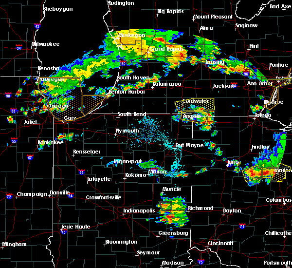 Radar Image for Severe Thunderstorms near Stryker, OH at 7/2/2019 8:01 PM EDT