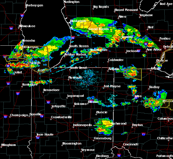 Radar Image for Severe Thunderstorms near Napoleon, OH at 7/2/2019 8:31 PM EDT