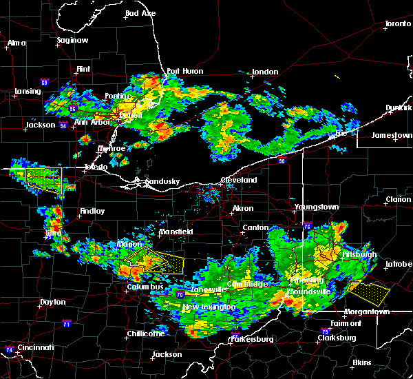Radar Image for Severe Thunderstorms near Mount Gilead, OH at 7/2/2019 8:59 PM EDT