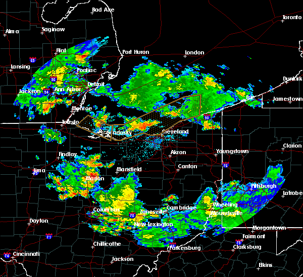 Radar Image for Severe Thunderstorms near Oberlin, OH at 7/2/2019 10:25 PM EDT