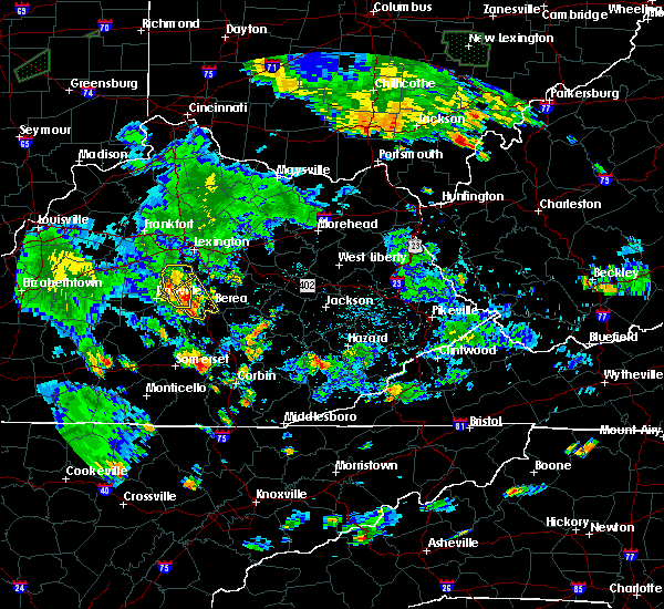 Radar Image for Severe Thunderstorms near Lancaster, KY at 7/3/2019 6:52 PM EDT