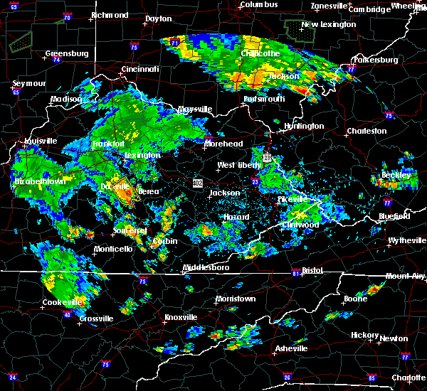 Radar Image for Severe Thunderstorms near Lancaster, KY at 7/3/2019 7:07 PM EDT