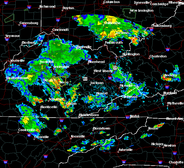 Radar Image for Severe Thunderstorms near Richmond, KY at 7/3/2019 7:13 PM EDT