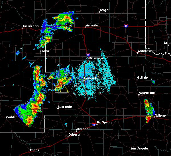 Radar Image for Severe Thunderstorms near Sundown, TX at 7/3/2019 7:44 PM CDT