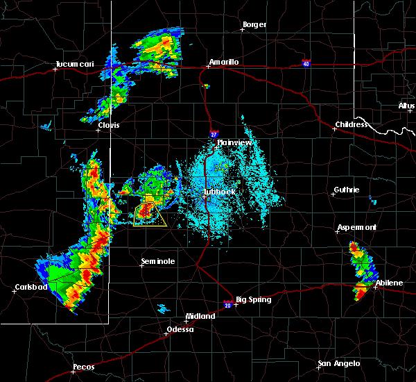 Radar Image for Severe Thunderstorms near Sundown, TX at 7/3/2019 7:55 PM CDT