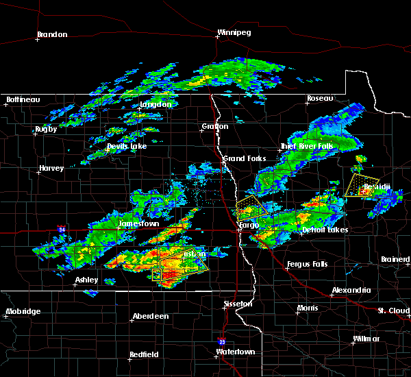 Radar Image for Severe Thunderstorms near Wilton, MN at 7/3/2019 9:47 PM CDT