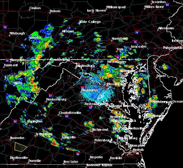 Radar Image for Severe Thunderstorms near Manchester, MD at 7/4/2019 2:09 PM EDT