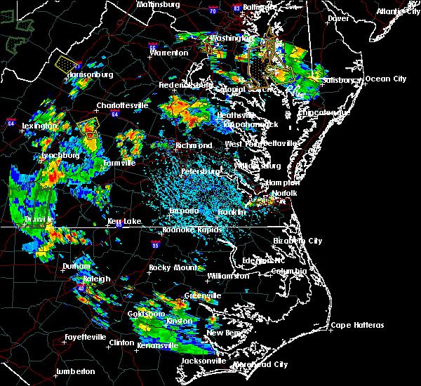 Radar Image for Severe Thunderstorms near Scottsville, VA at 7/4/2019 3:47 PM EDT