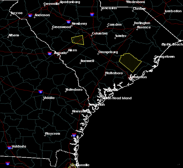 Radar Image for Severe Thunderstorms near Moncks Corner, SC at 7/4/2019 3:57 PM EDT