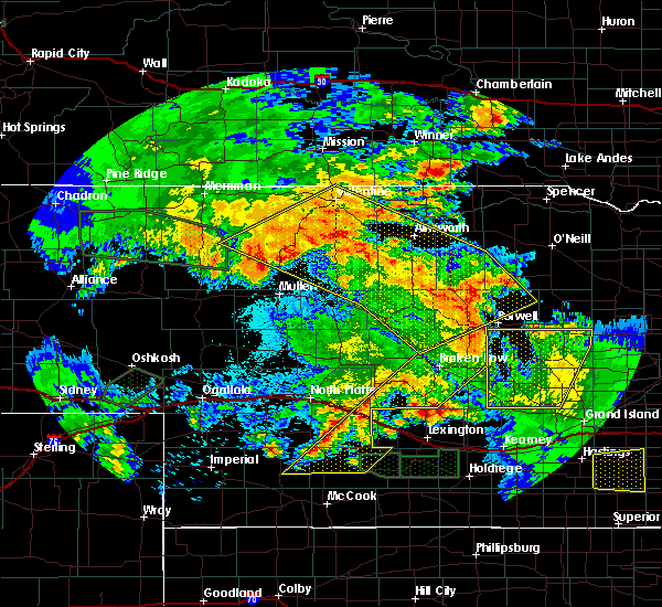 Radar Image for Severe Thunderstorms near Ainsworth, NE at 7/5/2019 3:20 AM CDT