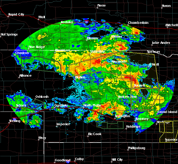Radar Image for Severe Thunderstorms near Atkinson, NE at 7/5/2019 3:39 AM CDT