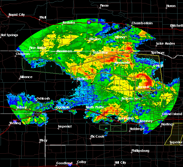 Radar Image for Severe Thunderstorms near Atkinson, NE at 7/5/2019 3:59 AM CDT