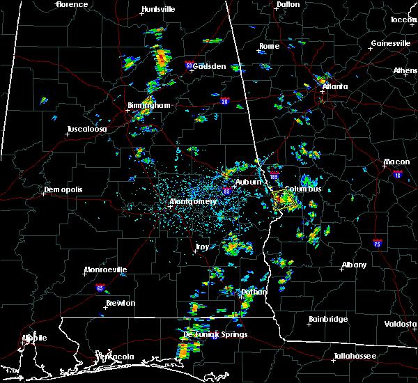 Radar Image for Severe Thunderstorms near Columbus, GA at 7/5/2019 3:13 PM EDT