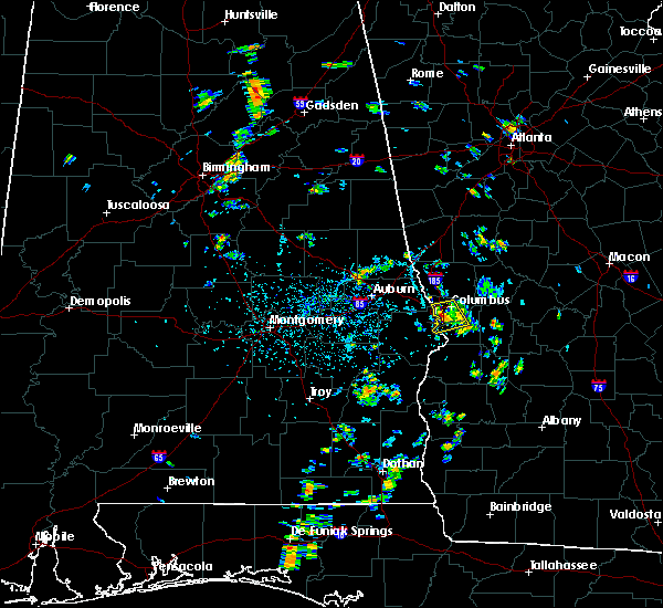 Radar Image for Severe Thunderstorms near Columbus, GA at 7/5/2019 3:17 PM EDT