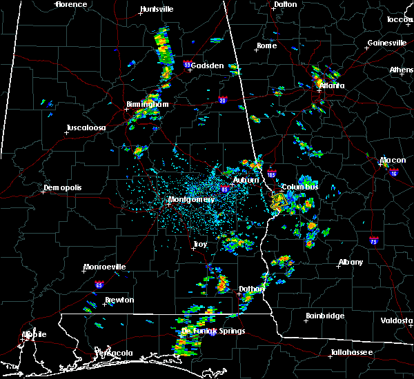 Radar Image for Severe Thunderstorms near Columbus, GA at 7/5/2019 3:43 PM EDT