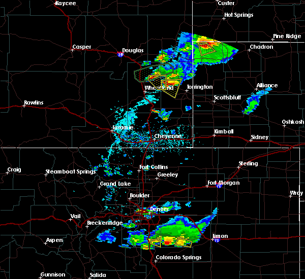 Radar Image for Severe Thunderstorms near Lingle, WY at 7/5/2019 5:10 PM MDT